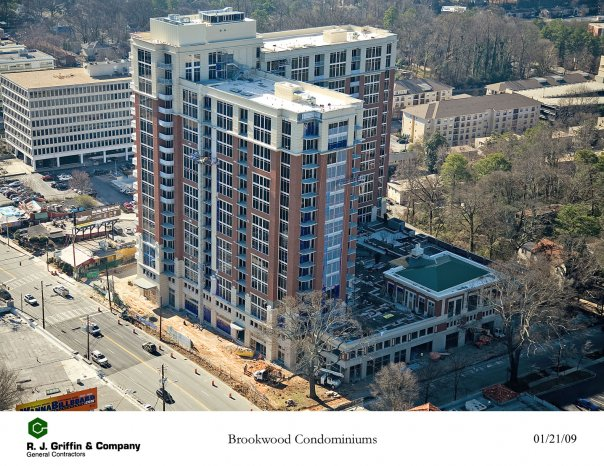 The Brookwood on Peachtree Street will be Atlanta's first LEED certified high-rise building