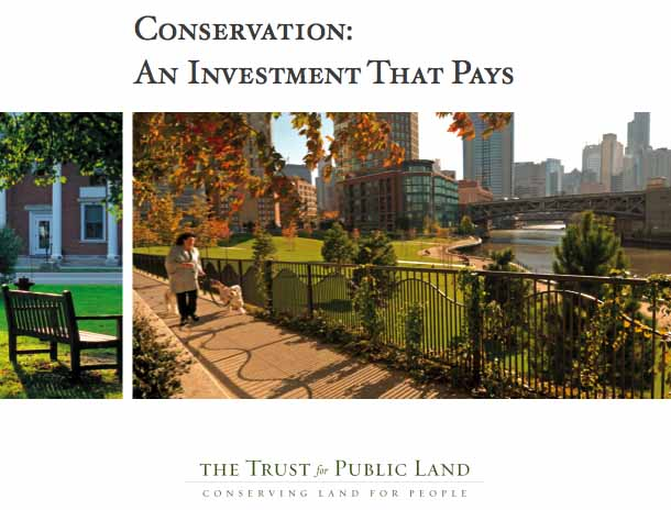Check out this new report from the Trust for Public Land on the economic and health benefits of parks and greenspace!