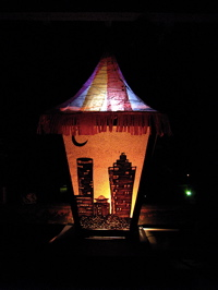 The Krewe of the Grateful Gluttons invites us to join them on June 26th, 2010 for a Lantern Parade as part of Art on the BeltLine from Irwin / Krog, up the BeltLine trail, to Park Tavern in Piedmont Park!