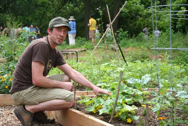 Kirkwood Community Garden and Urban Forest in Atlanta is breathing new life to an old dumping ground