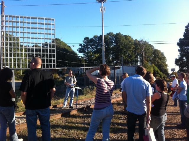 artist walk for Art on the Atlanta BeltLine 2011